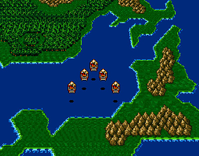 Final Fantasy II Screenshot