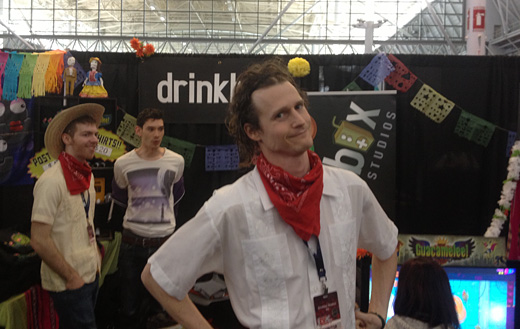 Interview with Chris McQuinn, of DrinkBox Studios