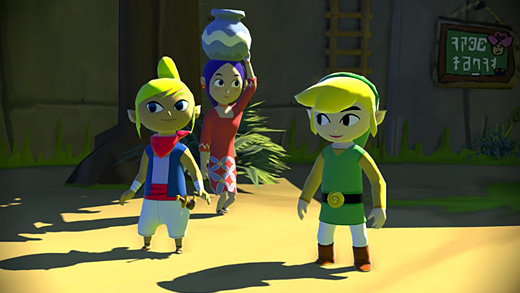 The Legend of Zelda: The Wind Waker HD (Wii U) Screenshot