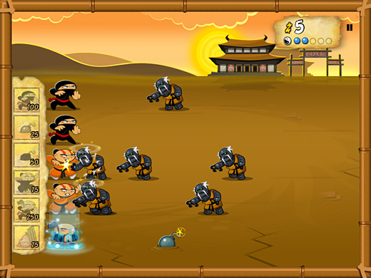 Nano Ninjas Screenshot