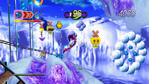 NiGHTS into Dreams Screenshot