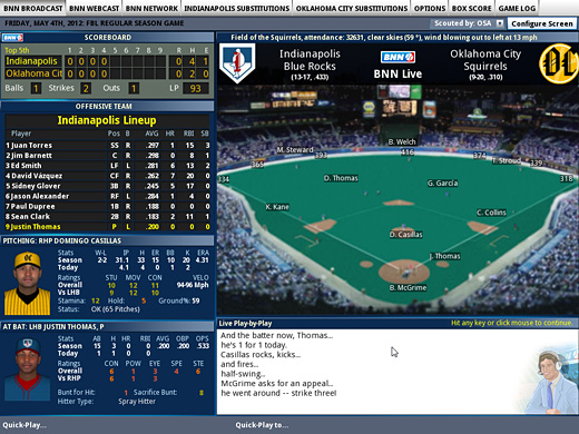 Out of the Park Baseball 14 Screenshot