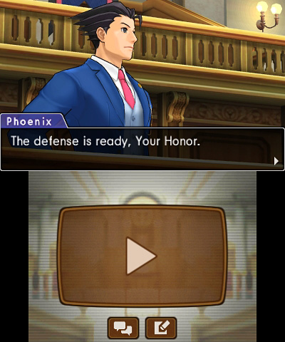 Phoenix Wright: Ace Attorney—Dual Destinies Screenshot