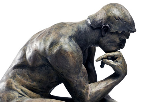 Rodin's The Thinker Image