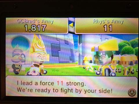 StreetPass Warrior's Way Screenshot
