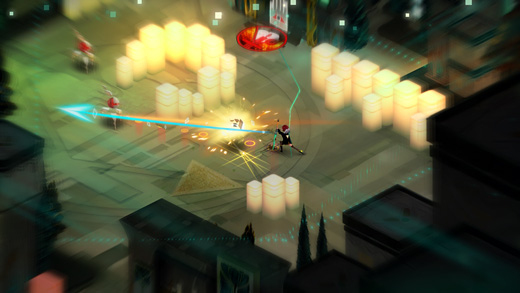 Transistor (Supergiant Games) Screenshot