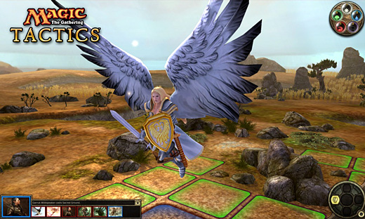 Magic: The Gathering—Tactics Screenshot