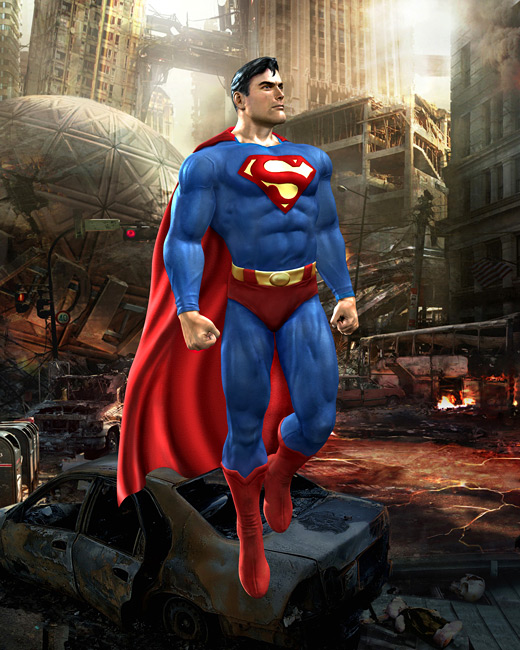 Mortal Kombat vs. DC Universe Art - Superman