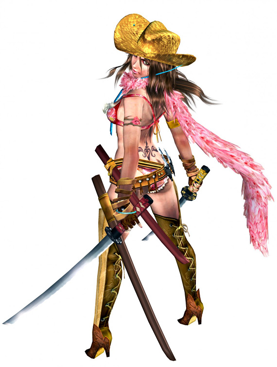 Click here for OneChanbara: Bikini Samurai Squad Art Gallery
