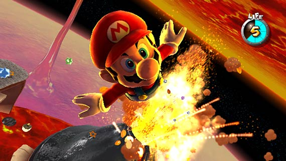 View preview & trailer for Super Mario Galaxy