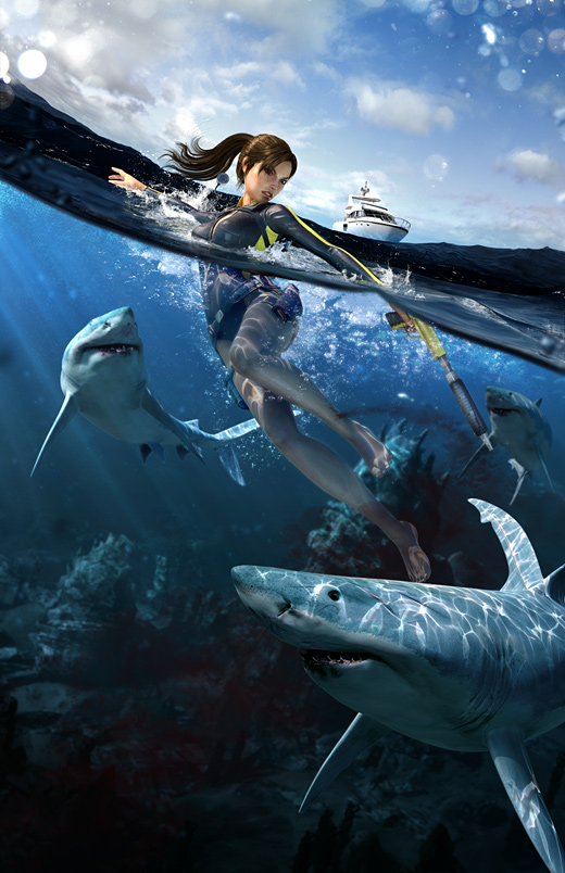 Tomb Raider: Underworld Art