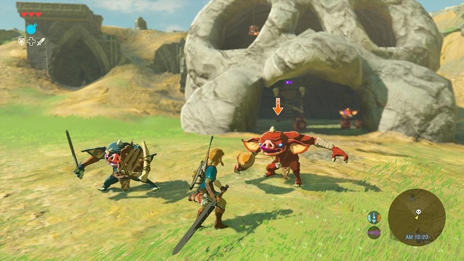 The Legend Of Zelda Breath Of The Wild Second Opinion Gamecritics Com