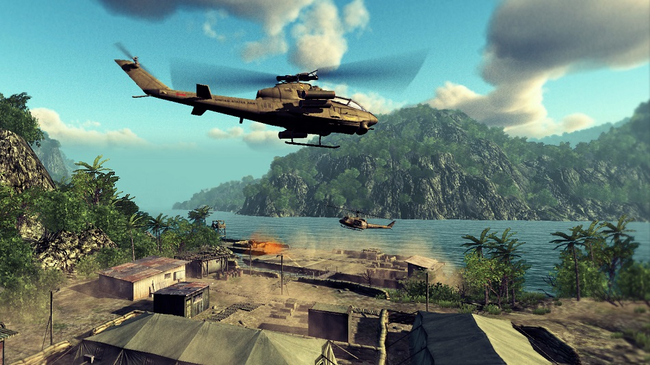 This Is Not A Review: Heliborne