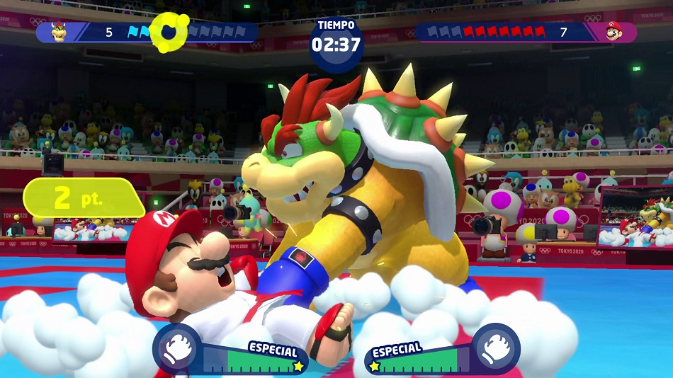 Mario Sonic At The Olympic Games Tokyo 2020 Review Gamecritics Com